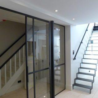 Schuifdeuren aan bovenrail