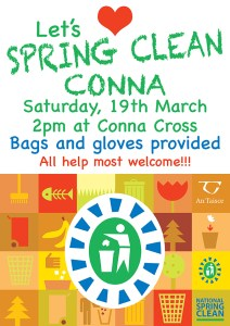 Spring Clean poster screen
