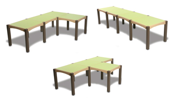 Modular Table Designs