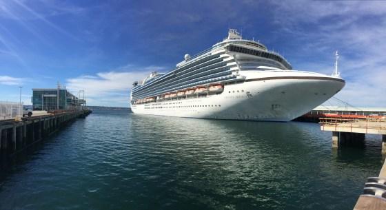 Top Cruise Destination - Crown Princess in San Diego