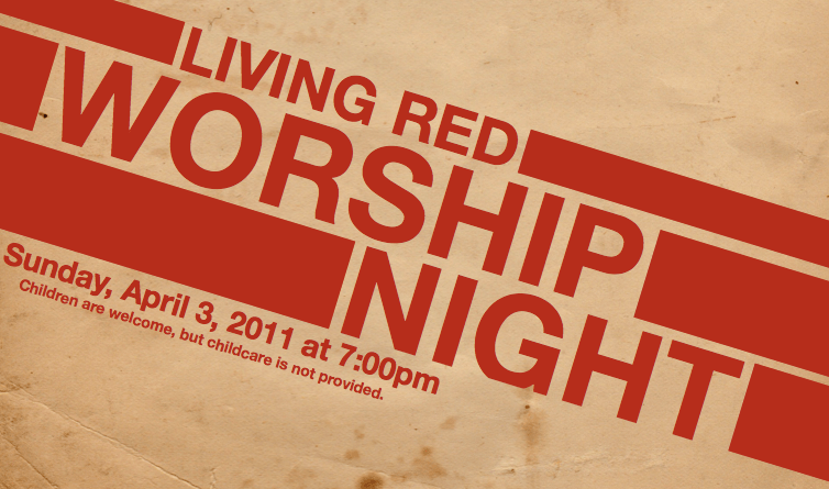 Living Red Worship Night