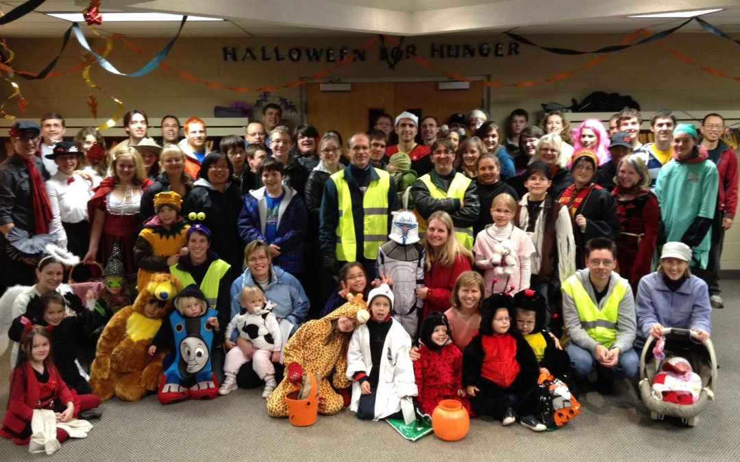 Thank you Halloween for Hunger Volunteers!