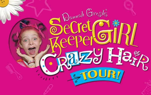 Secret Keeper Girl Crazy Hair Tour