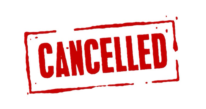BREAKING NEWS! This Sunday's Service is Cancelled Due To Poor Weather