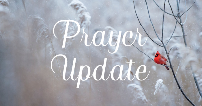 BIC Canada Prayer Update – December