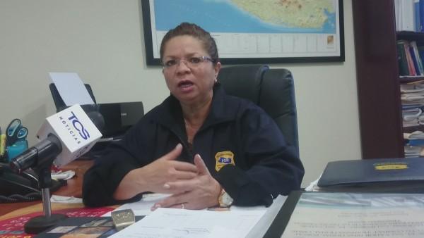 Smirna de Calles, jefa de la Unidad contra el tráfico de ilegales y trata de personas de Fiscalía. Foto: Jaime Armando López.