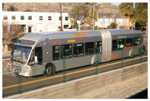 G Line in Los Angele, CA. LA Metro