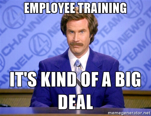 Work Training Funny Meme