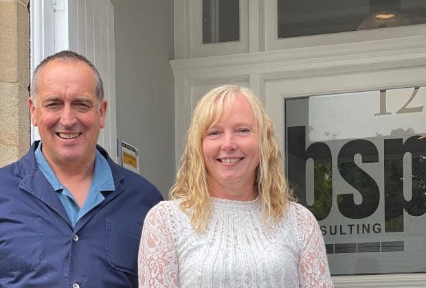 Carl Hilton and Carrie Booth from BSP Consulting-5145bc1b