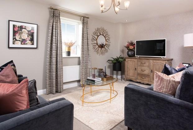 B&DWNM - BNM_Wigston_Hesketh 001 - A living room in a typical Barratt home at Wigston Meadows-b8656747