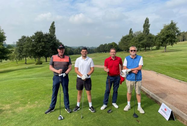 Participants at Russell Roof Tiles annual golf tournament 2021-f9d43df6