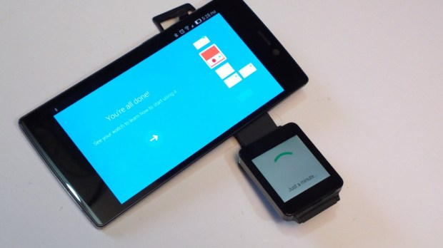 Android Wear Initial Setup