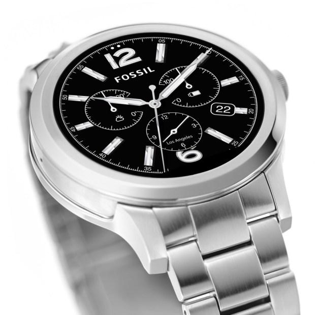 Q Founder Digital Watch