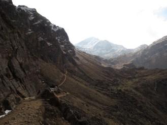 On a trek to Gosaikunda, Nepal