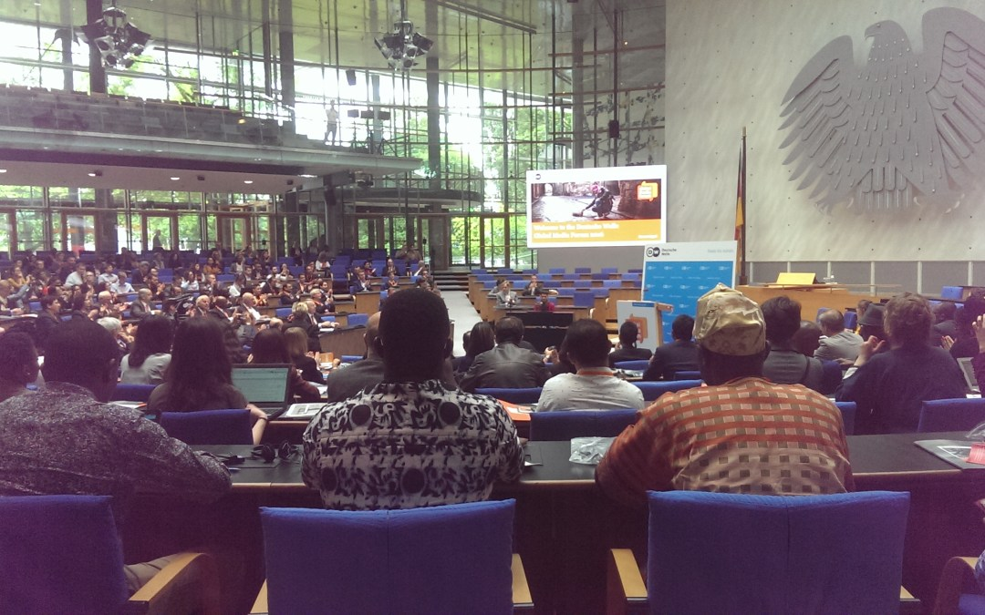 Connecting The Dots: The 2016 Global Media Forum in Bonn