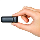Tiny Fitbit personal health & fitness device monitors and motivates