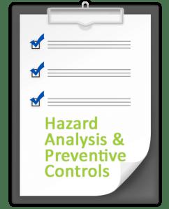 Hazard Analysis and Preventive Control Checklist