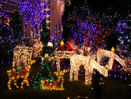 holiday lights in connecticut