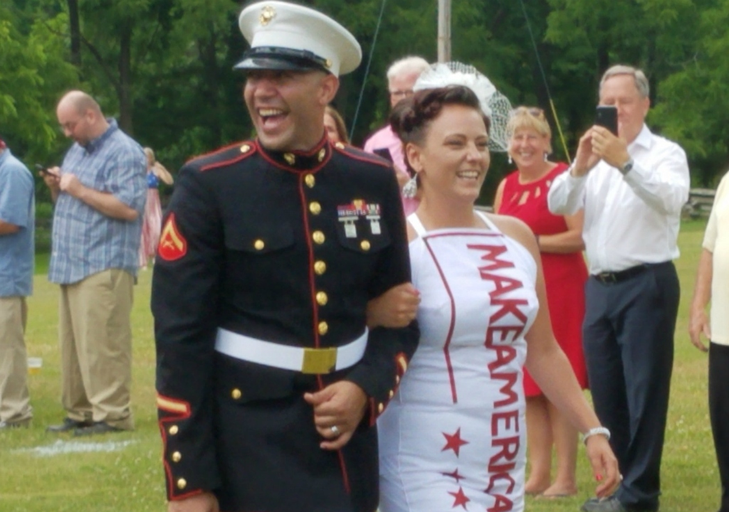 Couple's MAGA-Themed Wedding Celebrates President Trump