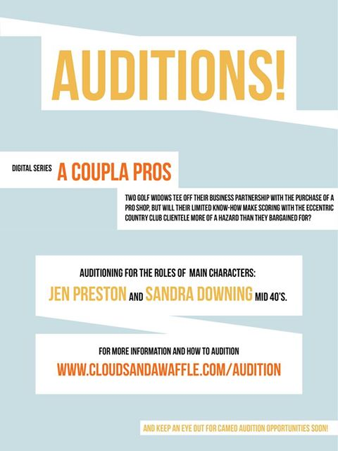 "Auditions for ""A Coupla Pros"""