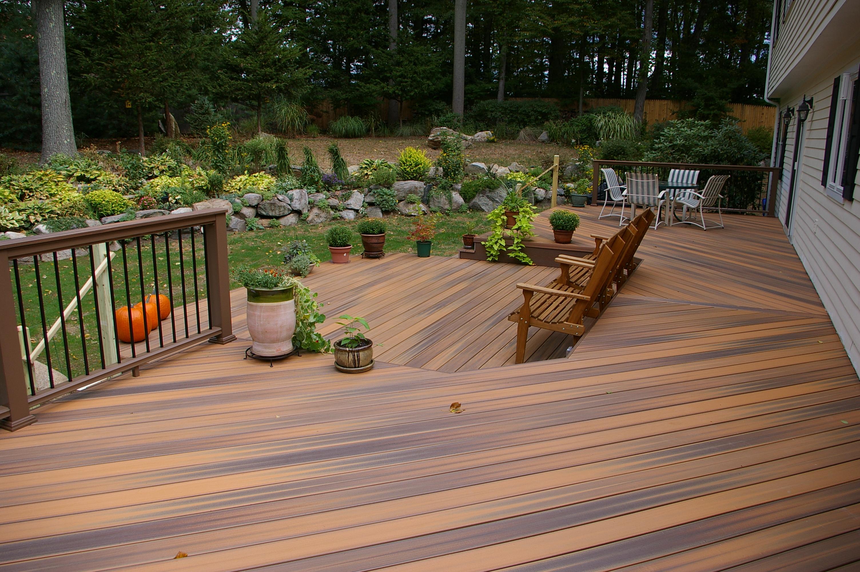 Outdoor Life and your Backyard | Custom Decks of Fairfield ... on Backyard Wood Patio Ideas id=81951
