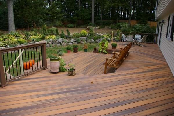 outdoor patio deck Outdoor Life and your Backyard | Custom Decks of Fairfield