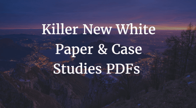 SEO White Paper & Case Studies