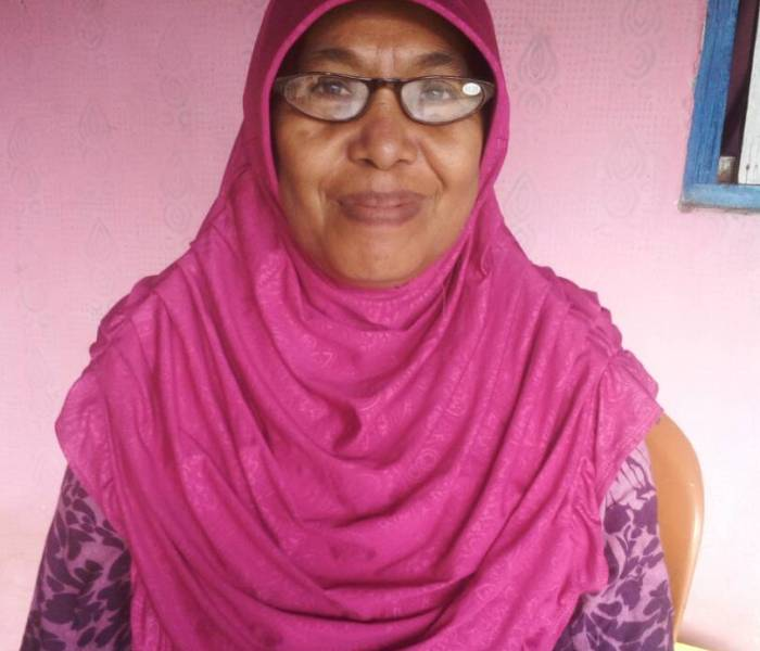 Our glasses were distributed in Palu, Central Sulawesi