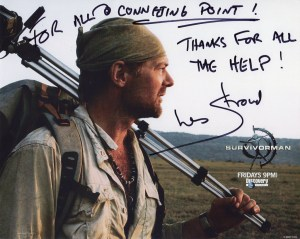 testimonials, Les Stroud, Survivorman, thanks, Connecting Point, Medford OR