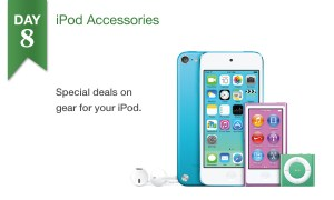 50% off select iPod accessories, today only at Connecting Point