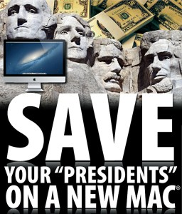 """Save Your Presidents"" sale Connecting Point Computer Centers"
