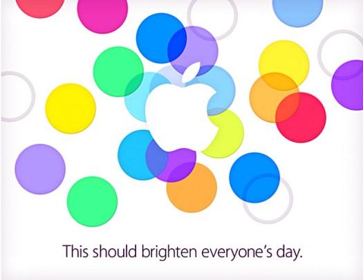 Apple press event invitation - September 10, 2013