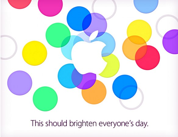 Apple press event invitation - September 10, 2013