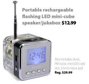 Deal of the Week | October 4, 2013: Portable rechargeable