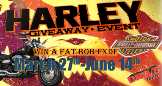 The Drive 102.7 and Connecting Point present 2014 Harley Davidson Giveaway