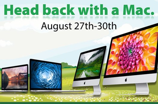 Connecting Point's 'Head Back with a Mac Sale' - FREE Canon PIXMA All-in-One, plus special financing