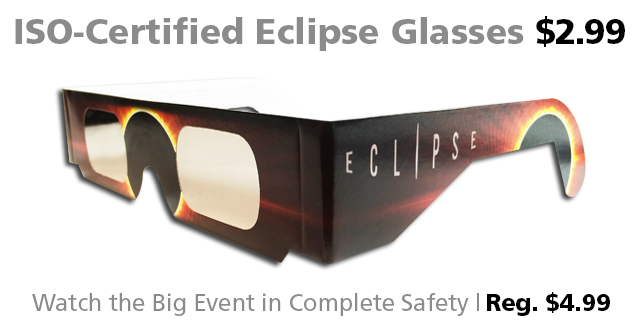 DOTW Deal of the Week eclipse viewing glasses Connecting Point Medford OR
