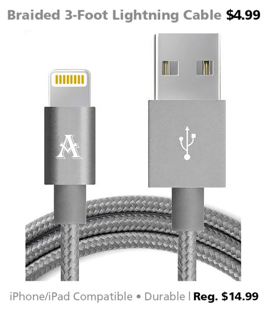 DOTW Lightning cable USB iOS sale Connecting Point Medford Oregon