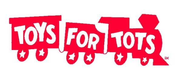 LOGO Train logo for USMC Reserve 'Toys for Tots' program