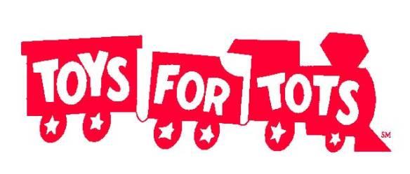 LOGO Train logo for USMC Reserve 'Toys for Tots' program