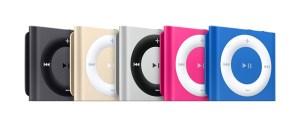 iPod shuffle family