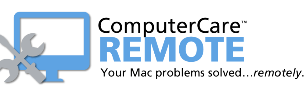 Connecting Point's ComputerCare REMOTE virtual Mac tech support