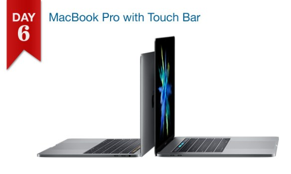 $50 off all MacBook Pro with Touch Bar models (Dec. 18, 2016 only)