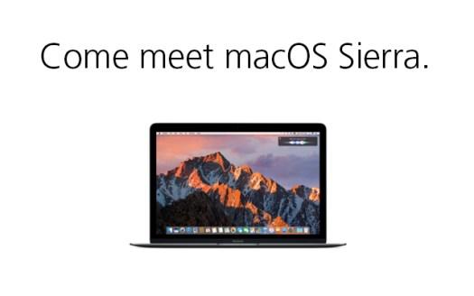 SEMINAR Meet macOS Sierra 12-08-16