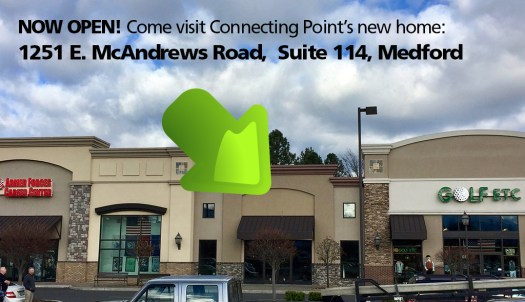 Connecting Point's new home: 1251 E. McAndrews Rd., Medford