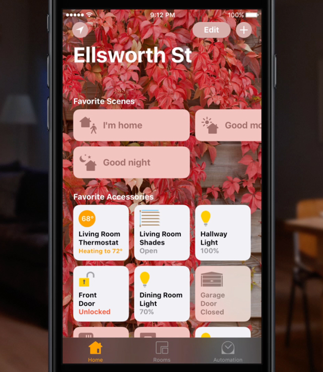 BANNER HomeKit Home app scenes iPhone smarthome Apple Connecting Point