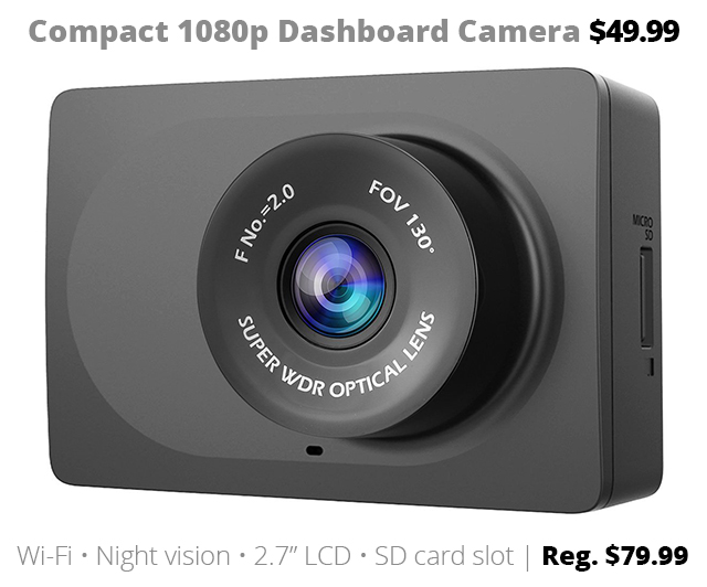 Deal of the Week DOTW Connecting Point dashcam dashboard camera car camera sale bargain Rogue Valley southern Oregon Medford