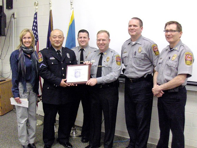Choe Is Sully Police Officer of Year
