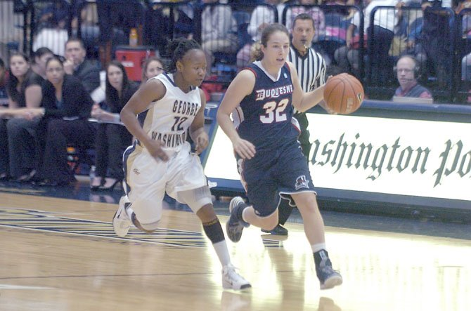 West Springfield Grad Robinson Excelling at Duquesne
