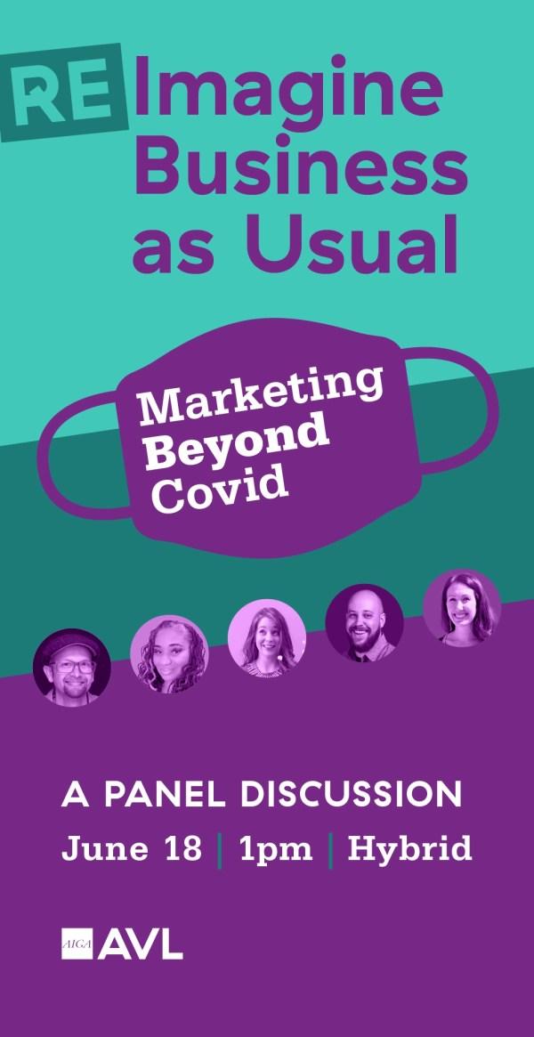 AIGA Asheville Presents Marketing Beyond Covid June 18th